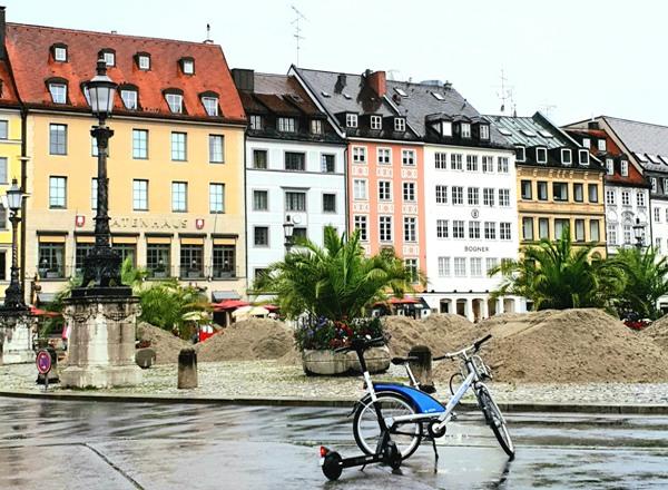 Мюнхен на велосипеде