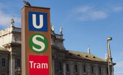 Общественный транспорт Мюнхен
